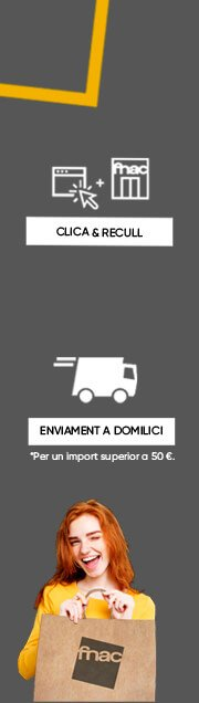 FNAC CLICA&RECULL, ENVIAMENT A DOMICILI