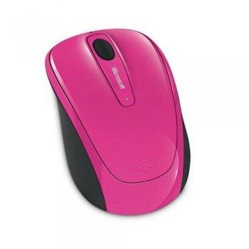 Ratón inalámbrico Microsoft 3500 Rosa