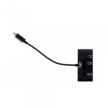 Tnb Multilector OTG Micro USB + Lector Micro SD