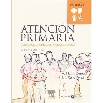 Atencion primaria 2v 6e+cd 1ed