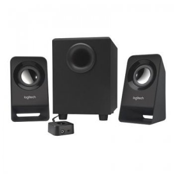 Altavoces  Logitech Multimedia Speakers Z213 negro