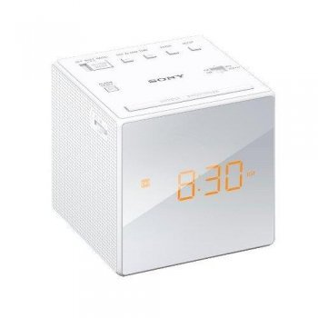 Radiodespertador Sony ICF-C1 Blanco