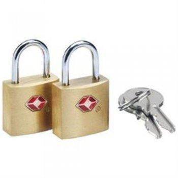 Go Travel 2 candados sentry con llave para viaje