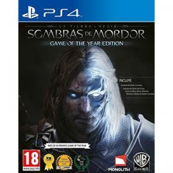 Tierra Media: Sombras de Mordor Game Of The Year PS4