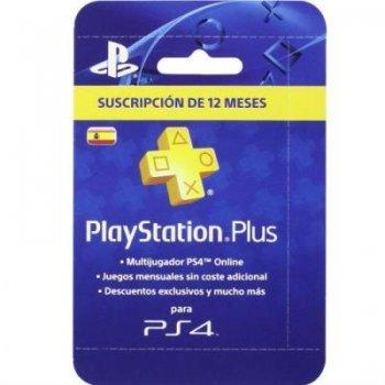 Tarjeta de Suscripción PlayStation Plus 12 meses