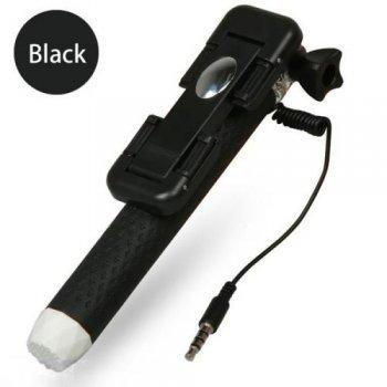 MCA black mini 3.5 mm selfie stick