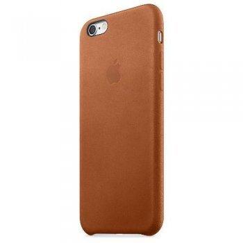 Apple iPhone 6s Funda de piel Saddle Brown