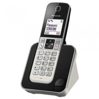 Teléfono inalámbrico Panasonic KX-TGD310 blanco
