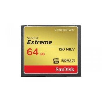 Tarjeta CF SanDisk Extreme CompactFlash 64 GB
