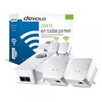Devolo dLAN 550 WiFi Network Kit PLC - Adaptador de red Powerline