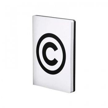 Libreta lg copyright-white smooth b
