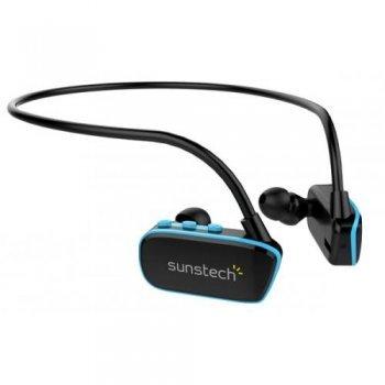 MP3 acuático Sunstech Argos 4 GB Negro/Azul