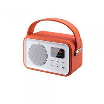 Radio Portátil Bluetooth Sunstech RPRBT450 Naranja