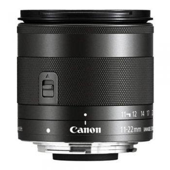 Objetivo Canon EF-M 11-22mm F4-5.6 IS STM negro