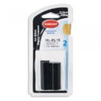 Hähnel HL-EL15 - Batería Li-Ion para Nikon 1650mAh