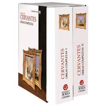 Estuche obras completas Cervantes I y II