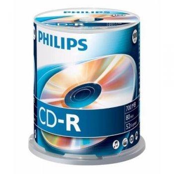 Philips CD-R CR7D5NB00 - CD-RW vírgenes (CD-Recordable)