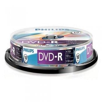 Philips DVD-R DM4S6B10F - DVD+RW vírgenes (DVD-R)