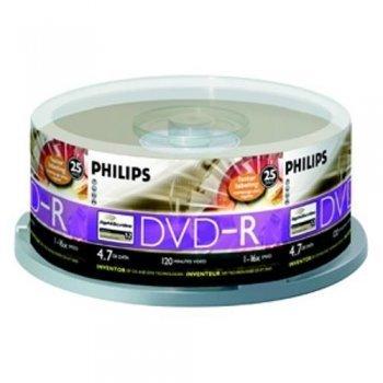 Philips DVD-R DM4S6B25F  10 DVD+RW vírgenes (DVD-R)
