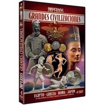 DVD-PACK IMPERIOS GRANDES CIVIL.(4)