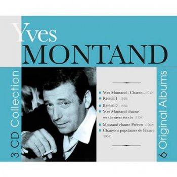 6 classics albums-yves montand