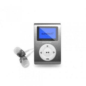 MP3 Sunstech Dedalo III 8GB Gris
