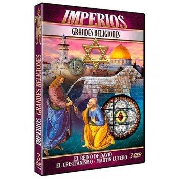 DVD-PACK IMPERIOS GRANDES RELIGIONE