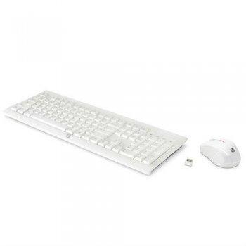 Combo Teclado + Ratón inalámbrico HP C2710 Blanco