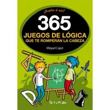365 juegos de logica que te rompera