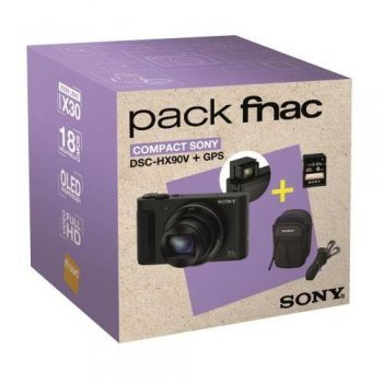 Cámara compacta Sony DSC-HX90V Pack