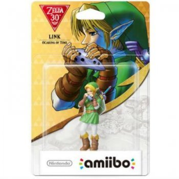 Figura Amiibo Link Ocarina of Time (Serie Zelda)