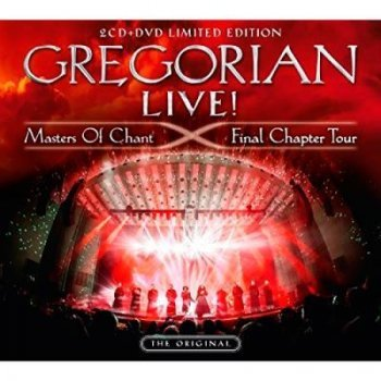Cd+dvd-gregorian live-masters of ch