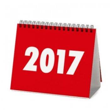 Calendari sobretaula 2017 vinçon
