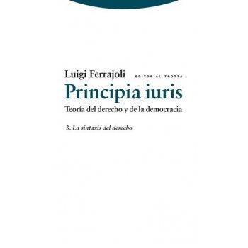 Principia iuris. teoría del derecho