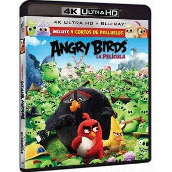 Angry Birds. La película (UHD + Blu-Ray)