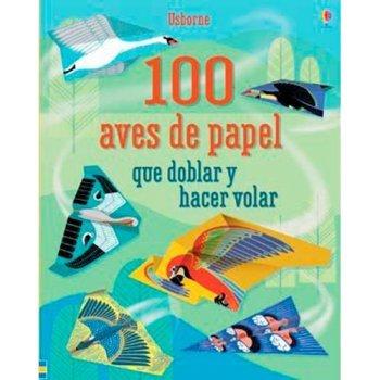 100 aves de papel que doblar y hace