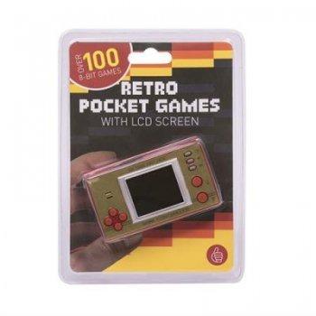 Consola retro portátil 100 juegos de 8 bits