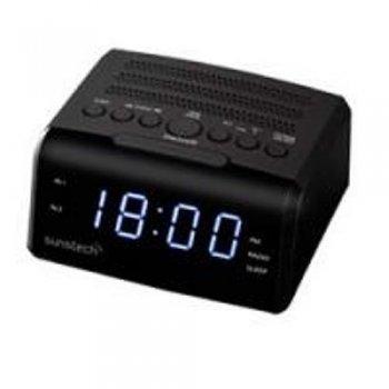 Radio despertador Sunstech FRD35U negro