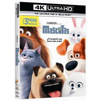 Mascotas (UHD + Blu-Ray)