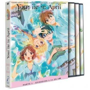 Your Lie in April  - Parte 1 - DVD