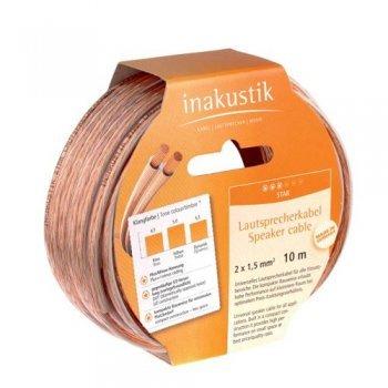 Cable de altavoz Inakustik Star 10 m Cobre