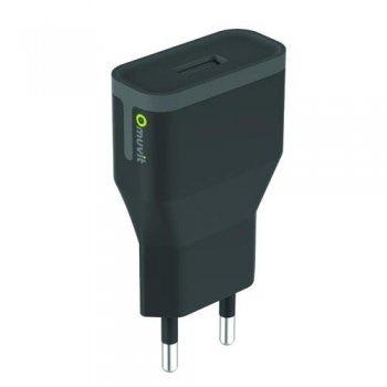 Cargador USB MCA negro  2.4A