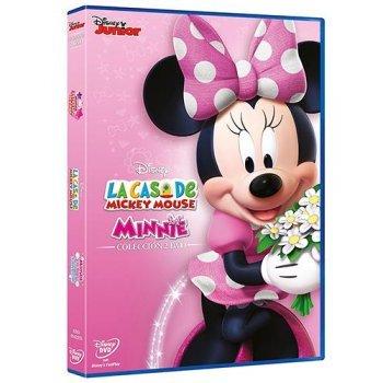 Pack La Casa de Mickey Mouse Minnie y su desfile de lazos de invierno + Minnie Pop Star - DVD