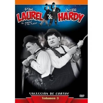 DVD-LAUREL Y HARDY 3 COLECCION CORT