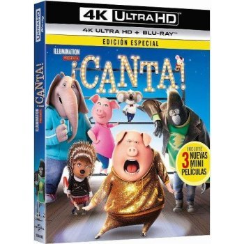 ¡Canta! (UHD + Blu-Ray)