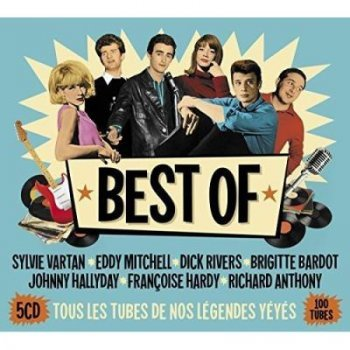 Best of yeye (5cd)