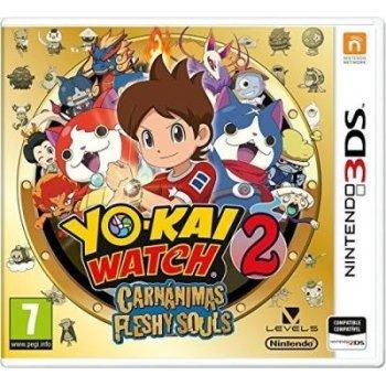 Yo-kai Watch 2: Carnánimas Nintendo 3DS