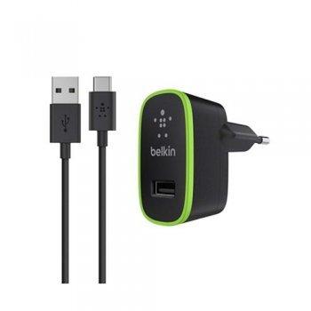 Cargador Belkin con micro USB - C negro