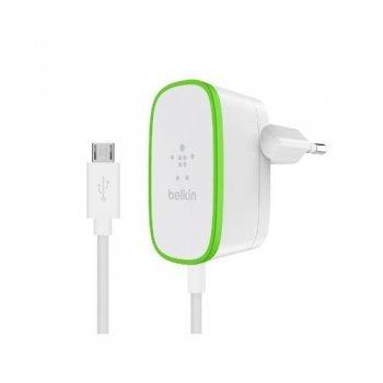 Cargador Belkin AC micro USB blanco