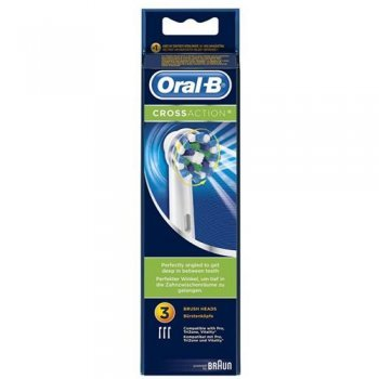 Pack 3 Recambio dental Oral-B CrossAction
